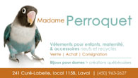 Madame Perroquet